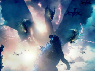 Godzilla King of the Monsters Movie 2019 wallpaper