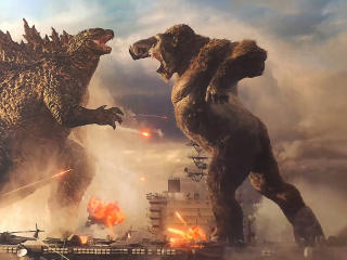 Godzilla Vs King Kong Fight Night wallpaper