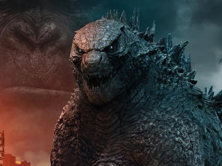 Godzilla Vs Kong King Characters Fan Poster wallpaper