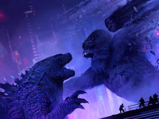 Godzilla Vs Kong New FanArt wallpaper