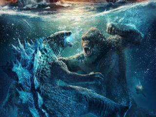Godzilla x Kong wallpaper