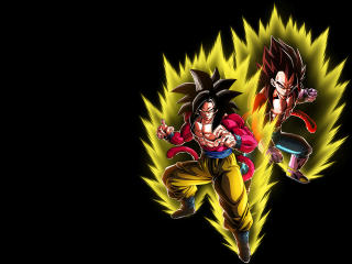 Goku & Vegeta SSJ4 wallpaper