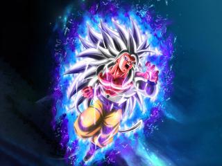 Goku SSJ5 8K wallpaper