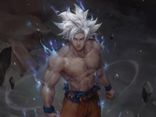Goku Ultra Instinct Art Dragon Ball wallpaper