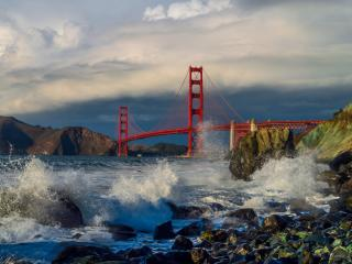 Golden Gate 4k Bridge wallpaper