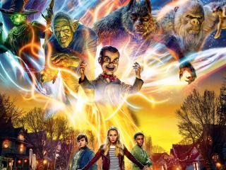 Goosebumps 2 Haunted Halloween 2018 Movie wallpaper