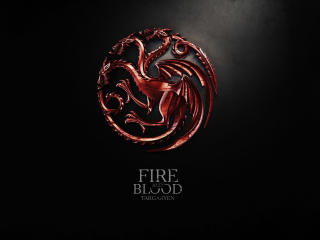 GOT Fire and Blood Targaryen wallpaper