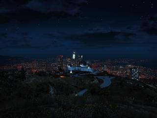 Grand Theft Auto 5 City View wallpaper