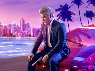 Grand Theft Auto Vice City Android Gaming wallpaper