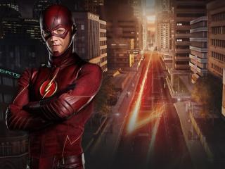 Grant Gustin as Flash wallpaper