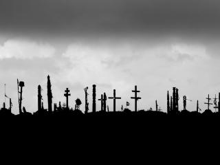HD Wallpaper | Background Image Graveyard Monochrome