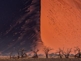Great Wall of Namib wallpaper