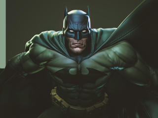 Green Batman DC Comic wallpaper