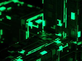 Green Machine Activation Cool Art wallpaper