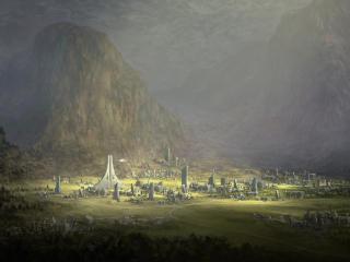 Greenlands Digital Art wallpaper