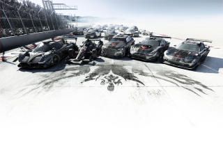 HD Wallpaper | Background Image grid autosport, sports car, cars