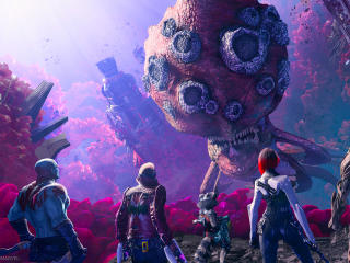 Guardians of the Galaxy Gaming HD wallpaper