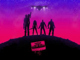 Guardians Of The Galaxy Minimal wallpaper