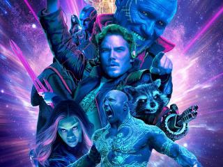 Guardians Of The Galaxy Vol 2 Neon wallpaper