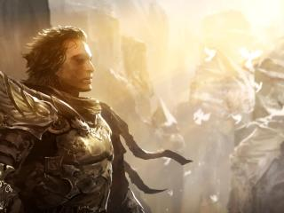guild wars, character, armor wallpaper