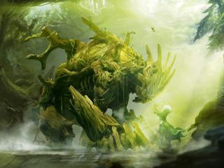 Guild Wars Monster Forest wallpaper