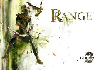 guild wars, ranger, bow wallpaper