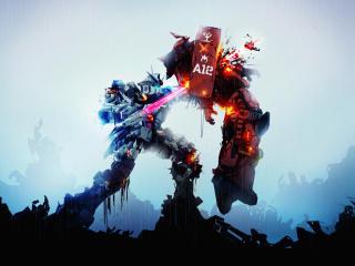 Gundam Robots Fight wallpaper