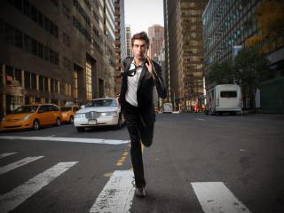guy, suit, rush wallpaper