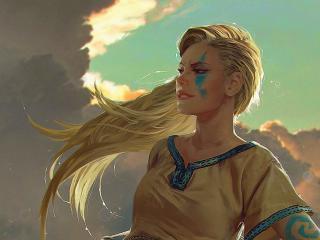 Gwent The Witcher Card Digital Artartwork wallpaper