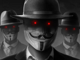 Hacker Anonymous Evil wallpaper