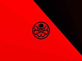 Hail Hydra Minimal wallpaper
