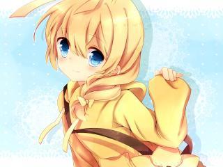 haiyore nyaruko, girl, blonde wallpaper