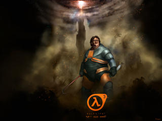 Half Life 3 Gabe Newell Funny wallpaper