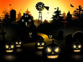 HD Wallpaper | Background Image Halloween Haunted House