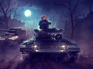 Halloween World Of Tanks wallpaper