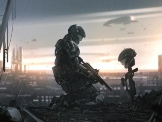 Halo 3 ODST Art wallpaper