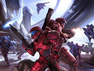 Halo Game Warrior wallpaper