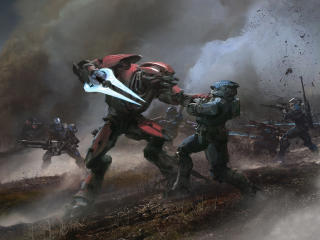 Halo Reach Gameplay wallpaper