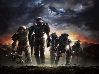 Halo Reach Key Art 8K wallpaper
