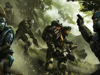 HD Wallpaper | Background Image halo, soldier, commander