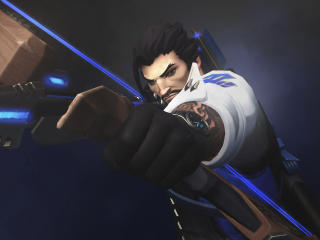 Hanzo Overwatch wallpaper