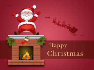 Happy Christmas 2017 wallpaper