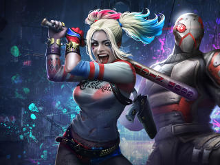 Harley Quinn & Deadshot Injustice 2 Mobile wallpaper