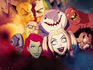 Harley Quinn Animated Series wallpaper