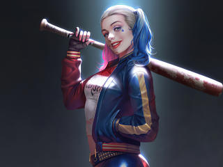 Harley Quinn Cute Smile wallpaper