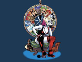Harley Quinn FanArt wallpaper