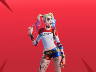 Harley Quinn Fortnite Skin wallpaper