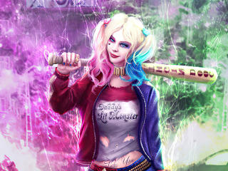 Harley Quinn New Fan Art wallpaper