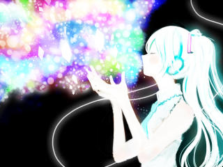 hatsune miku, vocaloid, anime wallpaper