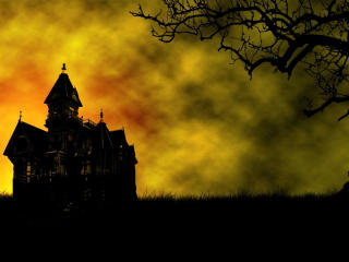 Haunted House wallpaper